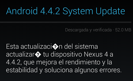 ANDROID 4.2.2 KITKAT