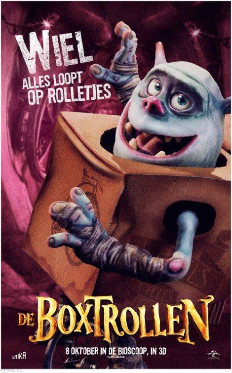Poster 5: The Boxtrolls