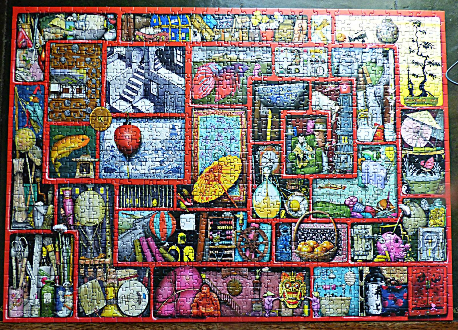 Ravensburger 1000-piece puzzle