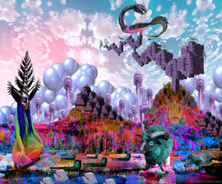 Larry Carlson Digital Collage