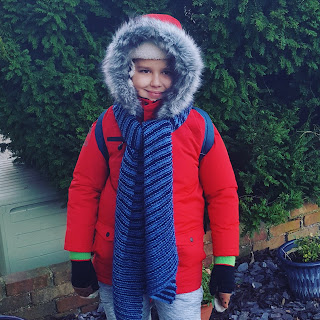 Dan Jon Jr ready for his School Residential