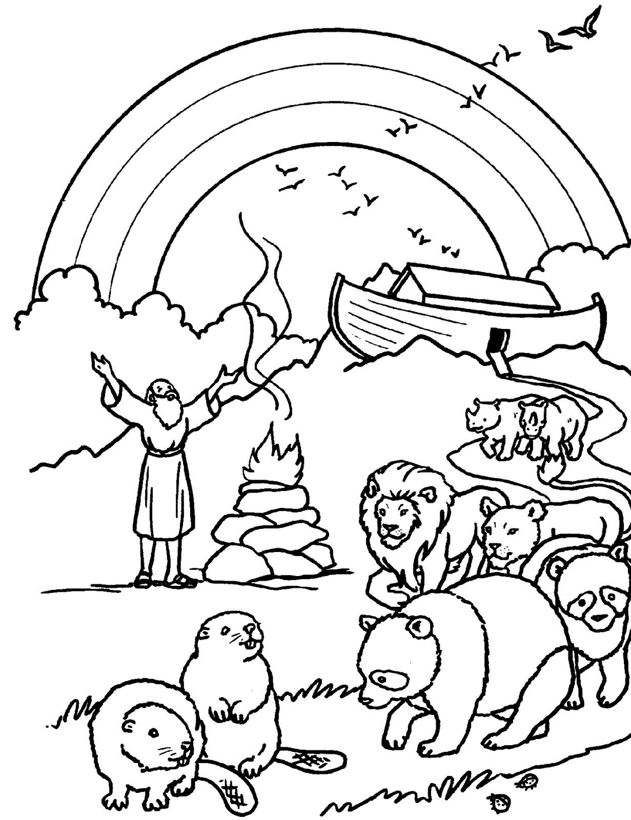 Imagenes Cristianas Para Colorear Dibujos Para Colorear Del Arca De Noe