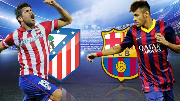 Atlético Madrid vs Barcelona en Vivo