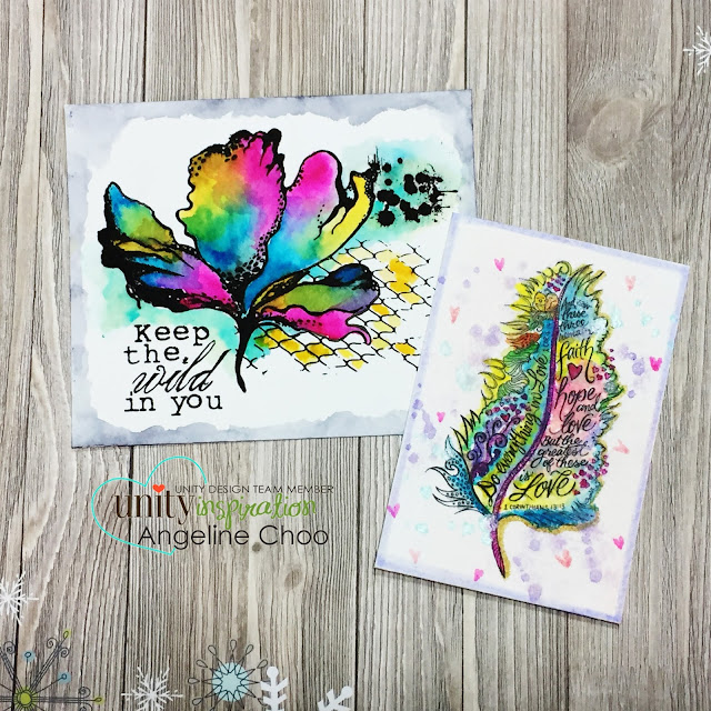 ScrappyScrappy: Big Blog Hop: Watercolor Frenzy with Unity Stamp #scrappyscrappy #unitystampco #watercolor #stamp #stamping #peerlesswatercolor #mixedmedia