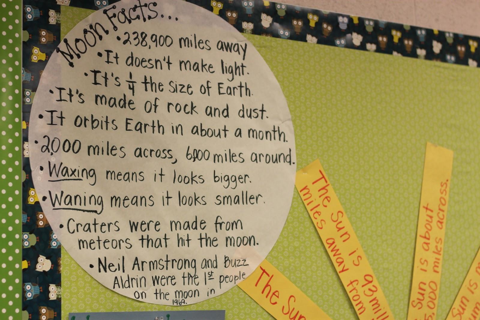 Simply Second Grade The Sun Amp Moon
