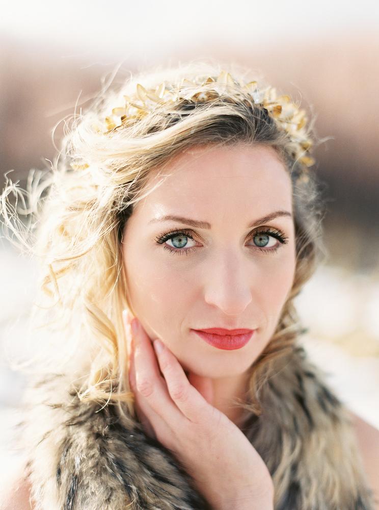 Photography: Orange Photographie / Hair & Makeup: Alexa Mae / Flowers & Styling: Katalin Green