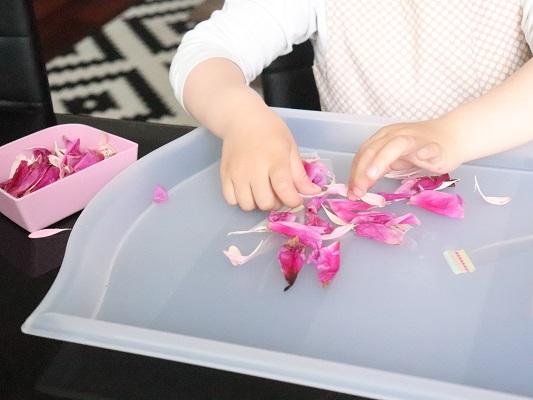 activités avec des fleurs