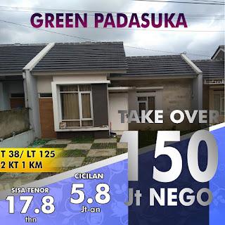 Rumah Take Over 150 JUTA Di Padasuka Dekat Cicaheum Antapani