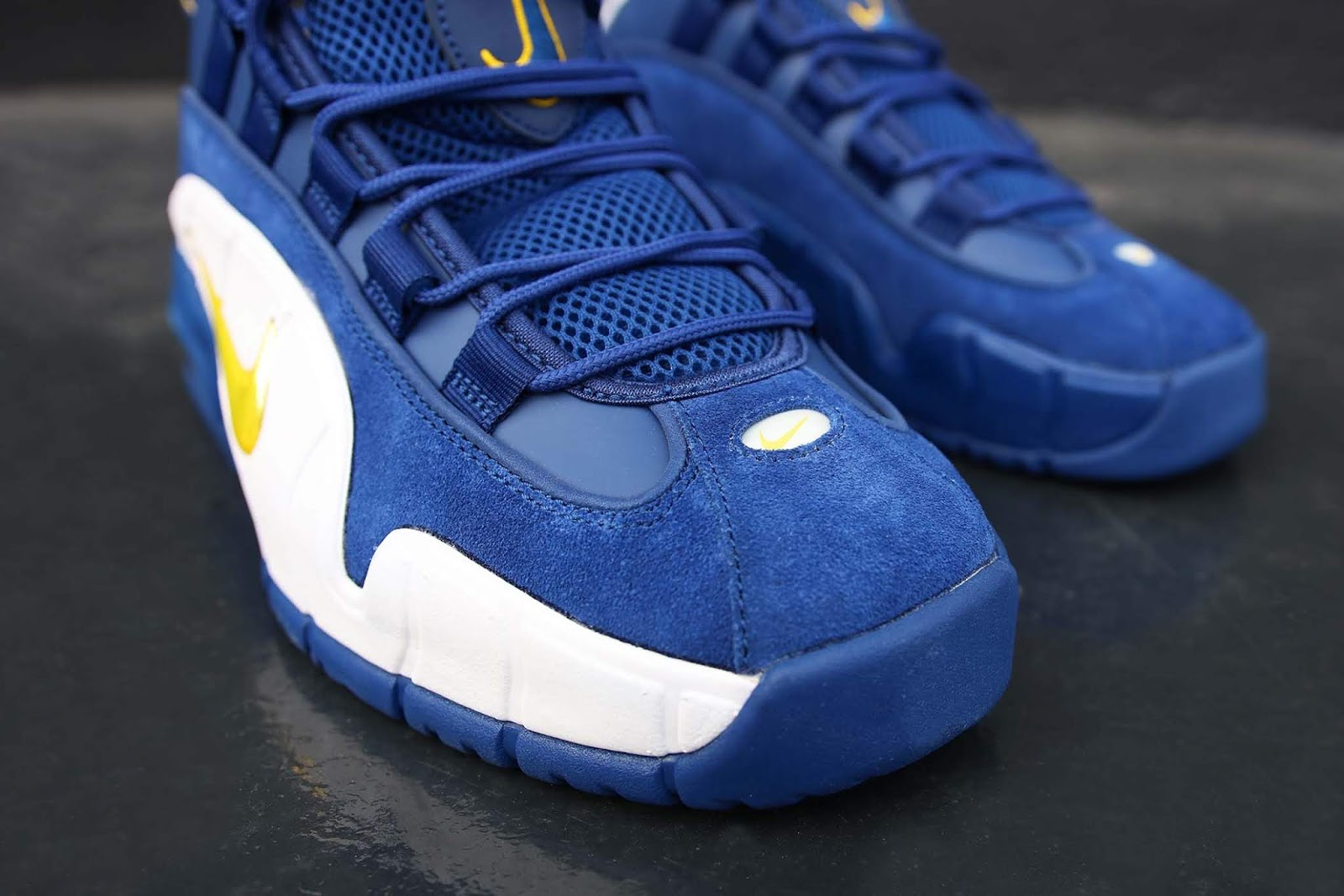 Swag Craze: First Look: Nike Air Max Penny 1 'Warriors'