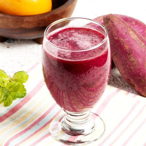 Jus buah bit untuk kesuburan campur ubi ungu dan semangka