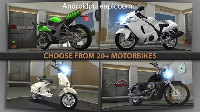 Download Traffic Rider 1.4 FULL APK + Hack MOD Unlimited Money Free