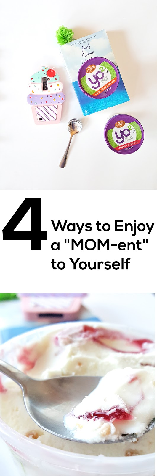 "Taking a moment isn't always easy... but it's so important! Here's four ways you can try and relax and enjoy the ""MOM-ent"" when you have the chance! #yo2 #ItsTheCows"
