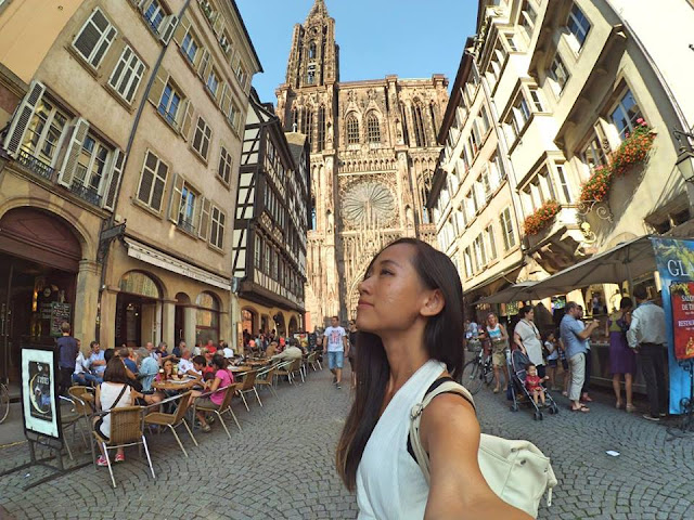 Strasbourg, France, Interrail, Vivian Lee, Miss Happy Feet