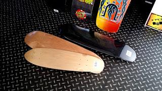 街乗りクルーザースケートボードはスケボーの基本ポンピング練習にも最適