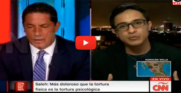 Fernando del Rincón entrevistó a Lorent Saleh en Conclusiones