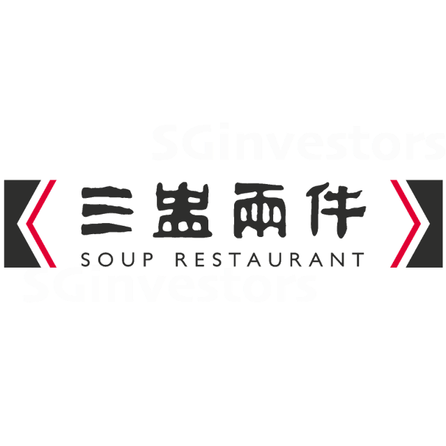 SOUP RESTAURANT GROUP LIMITED (5KI.SI) @ SG investors.io