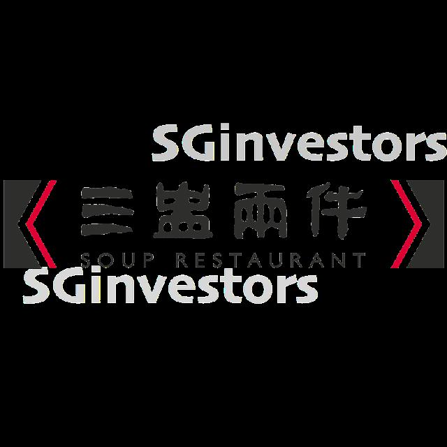 SOUP RESTAURANT GROUP LIMITED (5KI.SI) @ SG investors.io