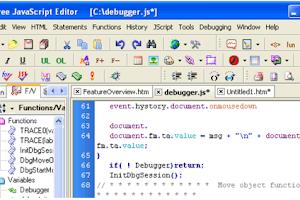 JavaScript Free Editor - Free Download