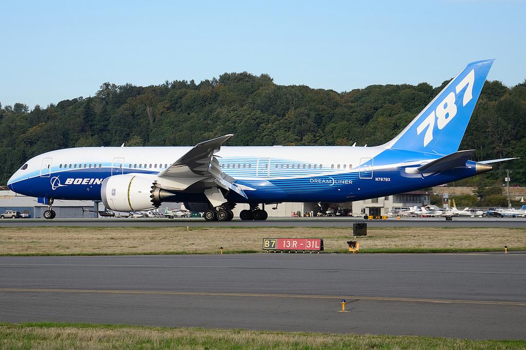 Puget Sound - Boeing Test Flights: N787BX B787-8 Boeing Flown 2nd leg of Dream Tour to Rockford, Il
