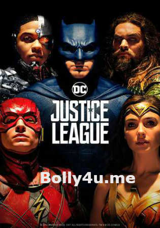 Justice League 2017 HC HDRip 350MB English 480p