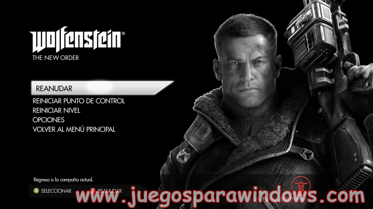 Wolfenstein The New Order Full PC ESPAÑOL UPDATE 1(RELOADED) 14