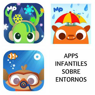 Apps infantiles sobre entornos naturales y nuestro planeta