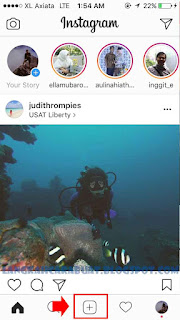 cara upload video ke instagram