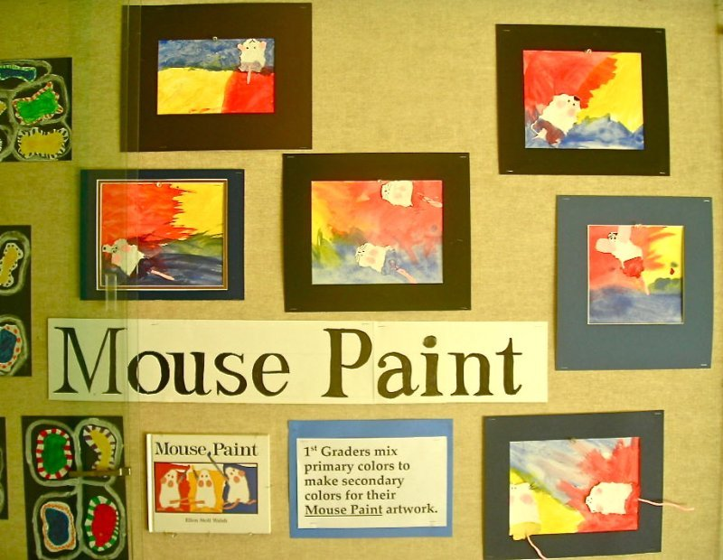 Fine Lines Primary Colors For Our Mice