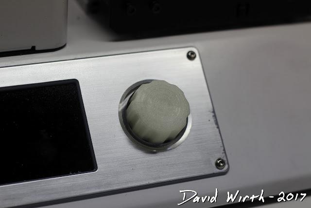 3d print new button for 3d printer, mp select mini, monoprice