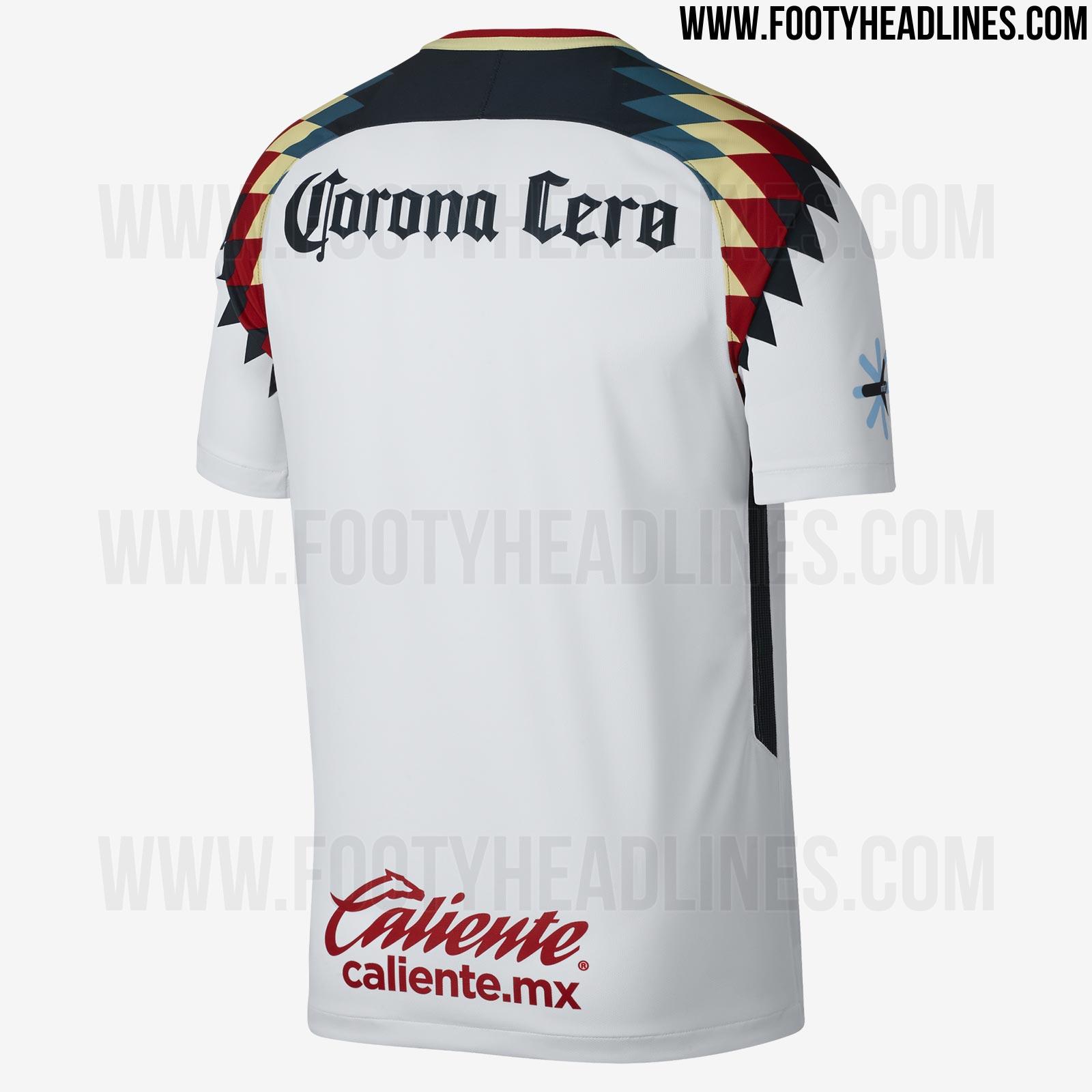 2017 18 liga mx kits overview all unique mexican league for Cuarto kit del america 2018