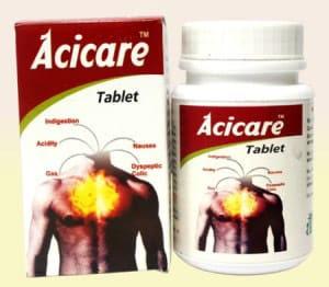 سعر ودواعي إستعمال أسيكير Acicare أقراص لعلاج الحموضة