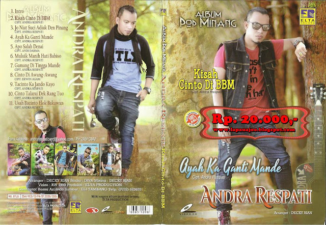 Andra Respati - Kisah Cinto Di BBM (Album Pop Minang)
