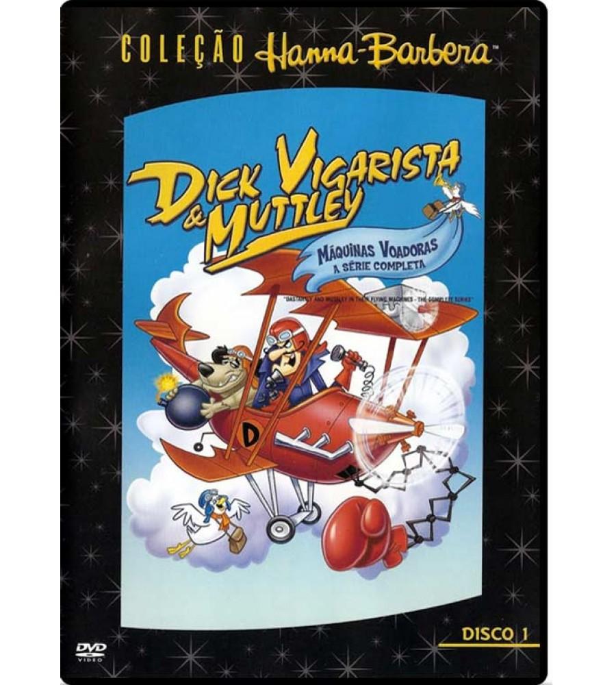 Dick Vigarista E Muttley Maquinas Voadoras Dvd Rmz Dual Audio