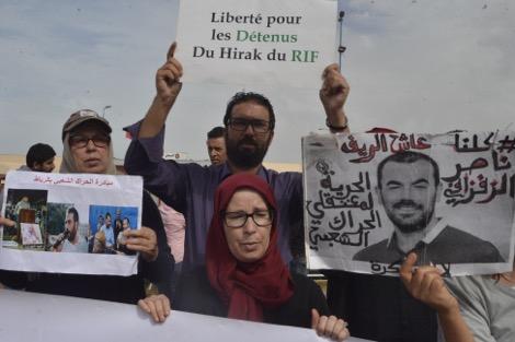 """الإضراب عن الطعام يشد الحبل بين المحكمة ومعتقلي """"حراك الريف"""""""