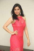 Sakshi Kakkar in Red Legsplit Sleeveless Gown at Dare movie Press meet ~  Exclusive 016.JPG