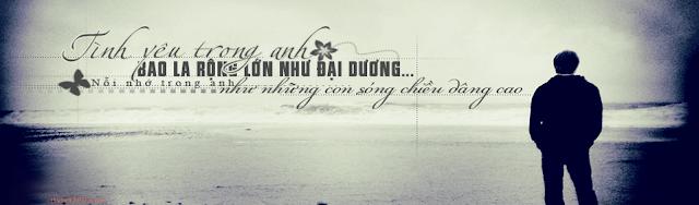 Ảnh bìa Zing Me tình yêu buồn đẹp, tình yêu trong anh, boy đứng trước biển