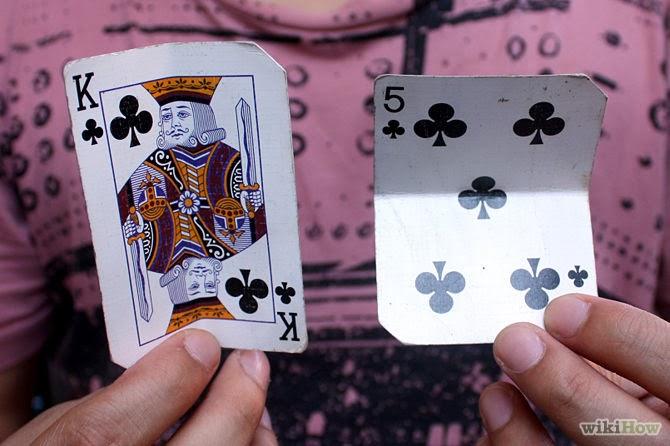 easy card tricks super card warp trick