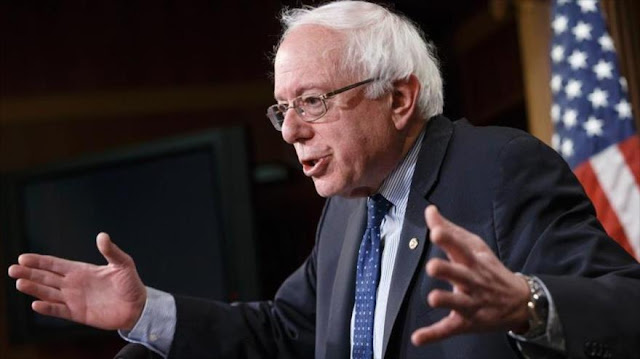 Sanders pide revisar sistema electoral obsoleto de EEUU
