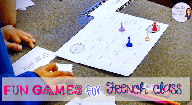 This blog post is full of fun ideas for teaching French. Includes ideas for games and activities plus links to resources at Teachers Pay Teachers that are ready to go!