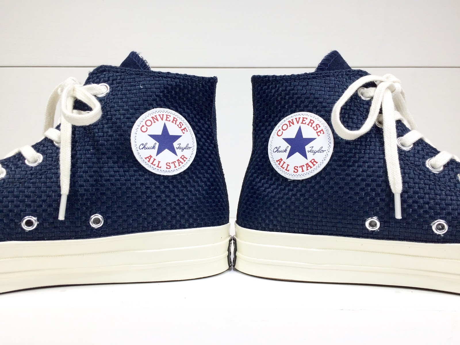 ea53bf46d3be Converse First String Chuck Taylor All Star 70  Woven High Top   Obsidian  Blue