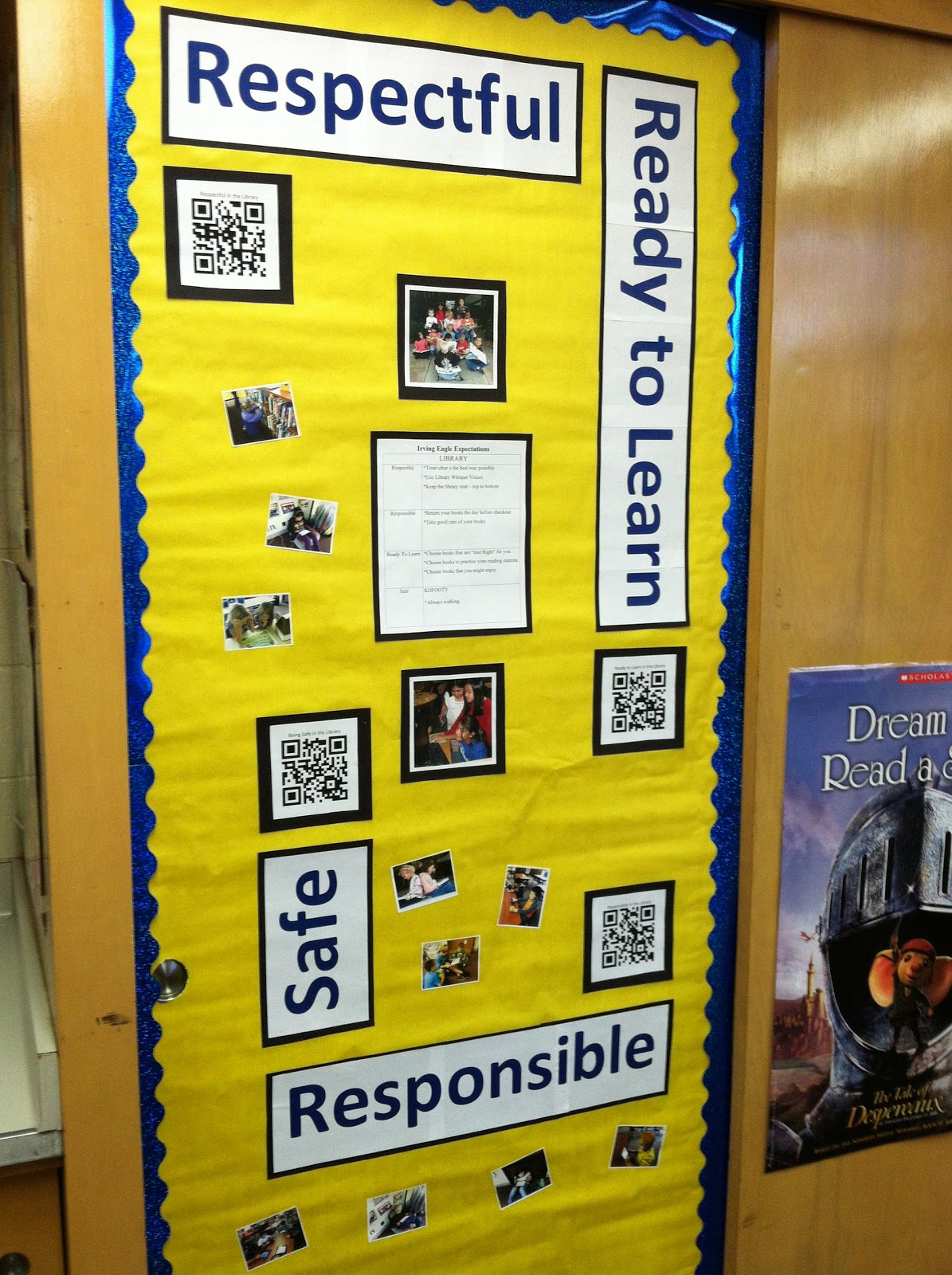 Irving Elementary Imc Respectful Responsible Ready To