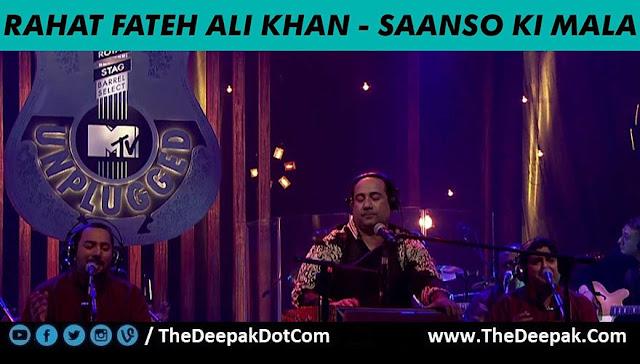Saanso Ki Mala - Rahat Fateh Ali Khan @ MTV Unplugged 5