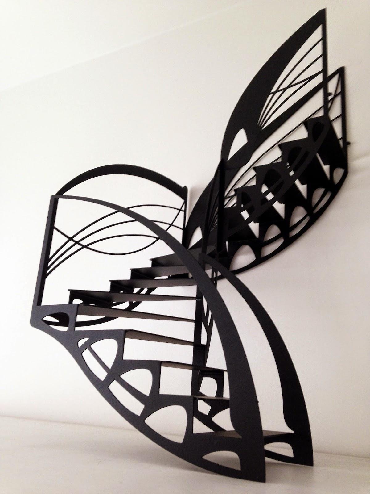 la stylique le cr ateur d 39 escalier design. Black Bedroom Furniture Sets. Home Design Ideas