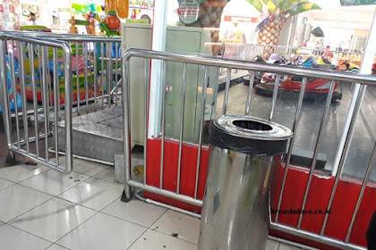 Jasa Pembuatan Pagar Barikade Stainless atau Besi di Bandung dan Sekitarnya
