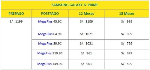 SAMSUNG GALAXY J7 PRIME BITEL