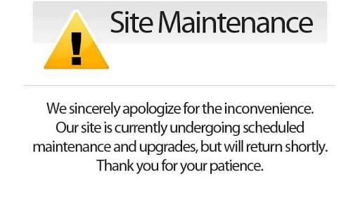 WEBSITE IS UNDER MAINTENANCE