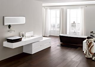 foto gambar desain kamar mandi minimalis sederhana | cara