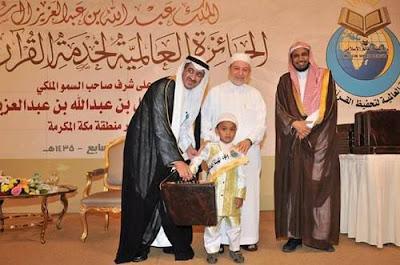 Musa hafidz cilik berusia 7 tahun yang mengikuti Musabaqah Hifzil Quran (MHQ) Internasional Sharm El Sheikh, Mesir.