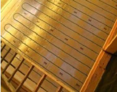 plancher chauffant sec mince mur chauffant plafond chauffant caleosol le blog chauffage. Black Bedroom Furniture Sets. Home Design Ideas