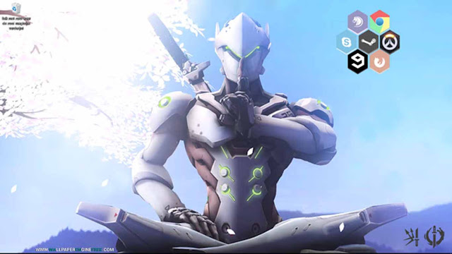 Genji Animated + Interaction Wallpaper Engine